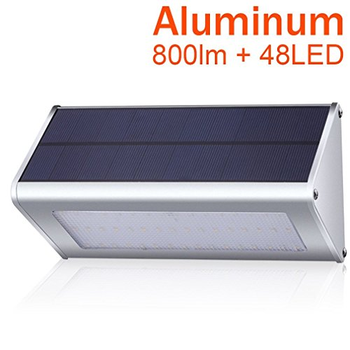 Solar Lights 400 Lumens Solar Powered Motion Sensor Light