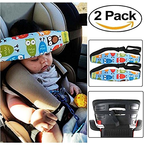 hulisen 2pcs infants and baby head support band carseat straps covers slumber sling toddler. Black Bedroom Furniture Sets. Home Design Ideas