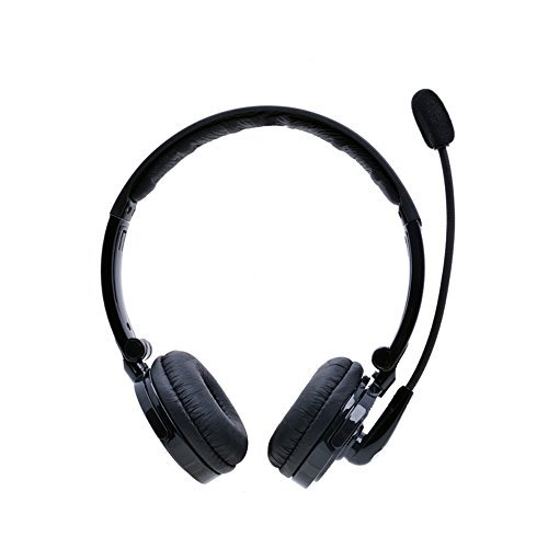 Bluetooth Headset Pashion 2 In 1 Stereo Handsfree Headset Boom Mic Noise Canceling Wireless Bluetooth Headphones For Cellphones Iphone 4s Ipad Pc Ps3 Skype For Drivers Pohsnio