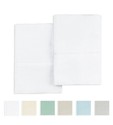 Zippered Pillow Protectors Hypoallergenic Cotton Poly