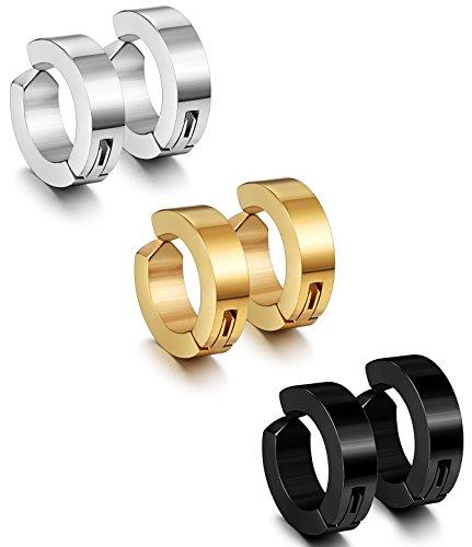12mm Gold Ball Stud Earrings