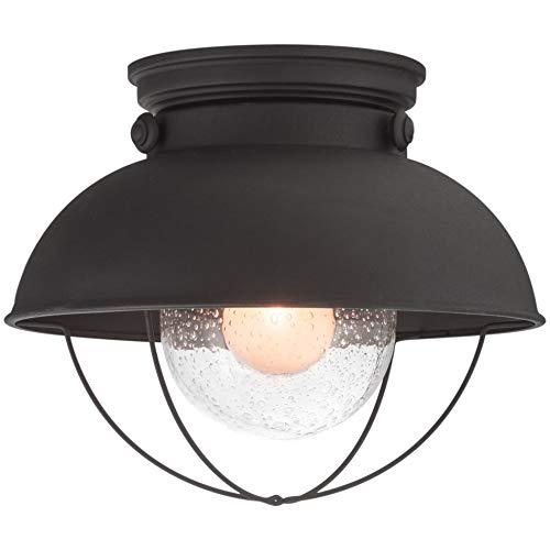 Industrial Vintage Lighting Ceiling Chandelier 5 Lights Semi Flush Mount Oil Rubbed Bronze Light