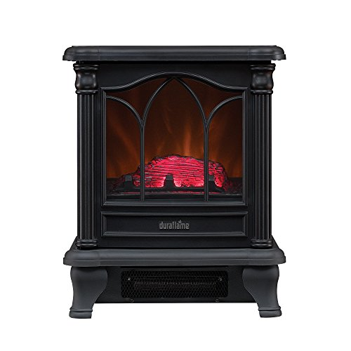 Duraflame Electric Infrared Quartz Fireplace Stove With 3d