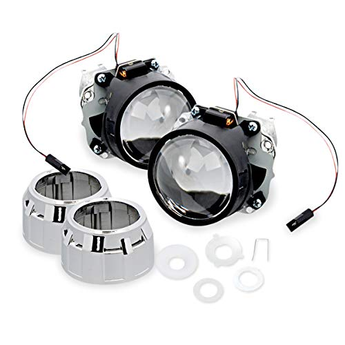 2 Year Warranty H3 5000K 5K Bright White HID-Warehouse 35W Xenon HID Lights with Premium Slim Ballast